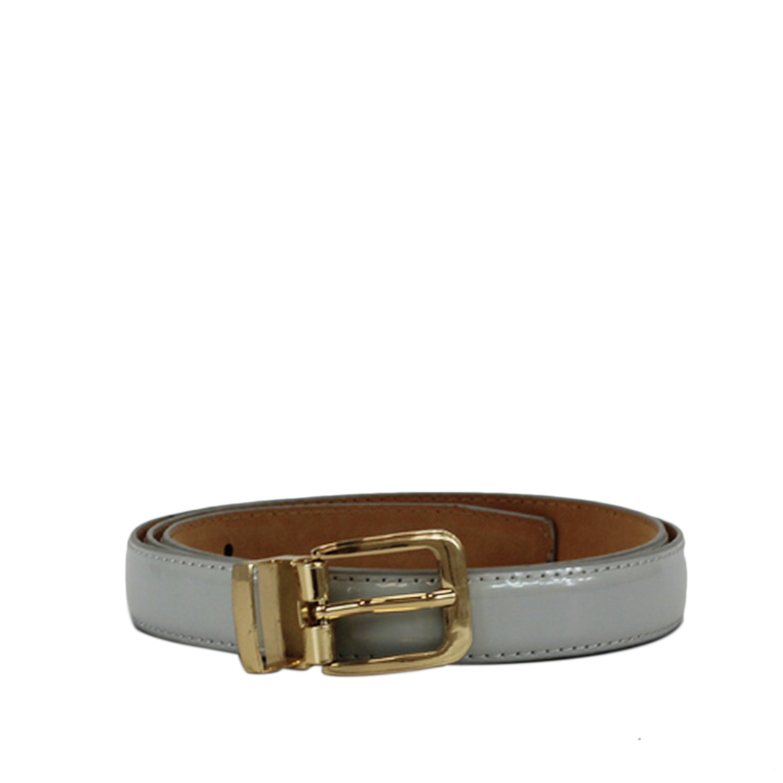 PLAIN WITH SML GOLD BUCKLE