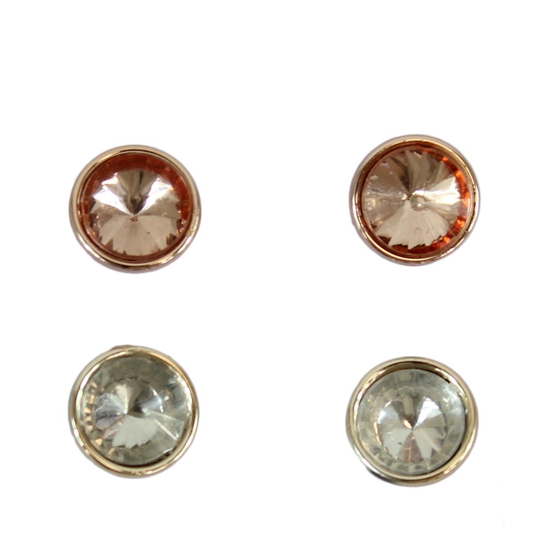 * Circle Diamonds (2 pairs)