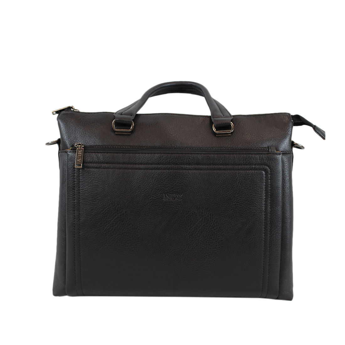 Real Leather- Plain with pocket infront