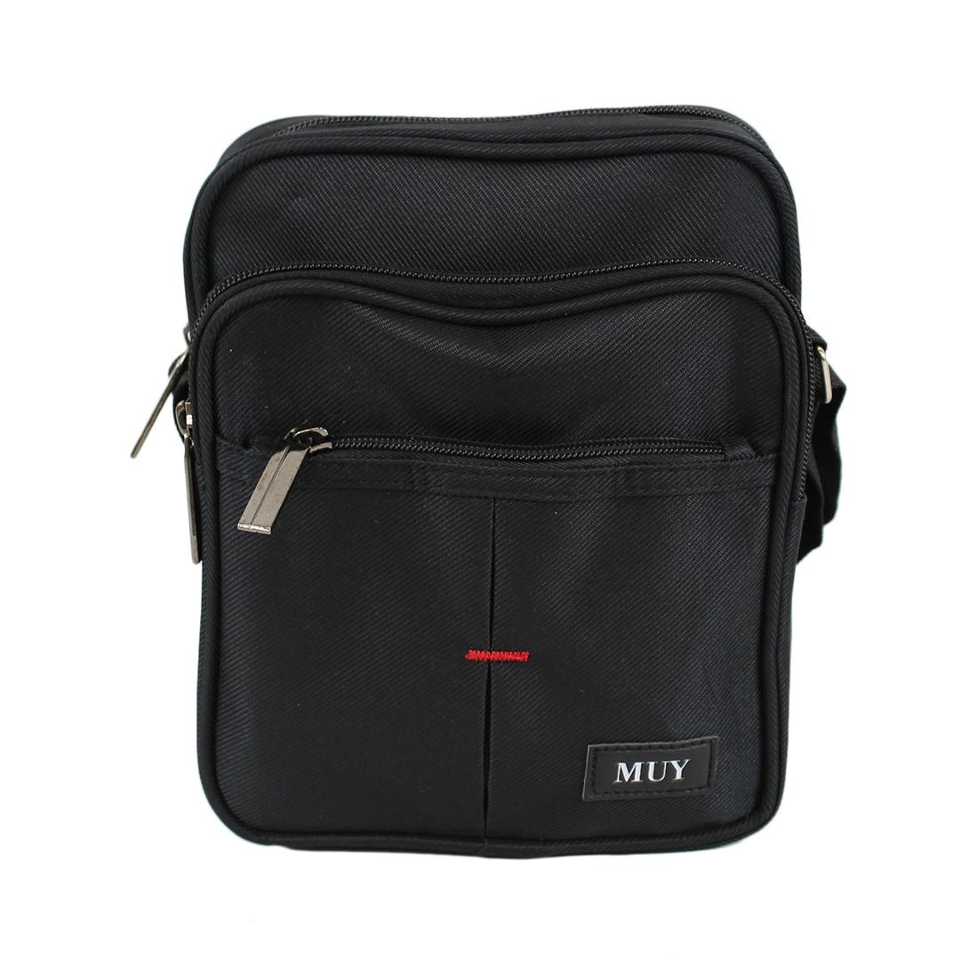 Cross Bag with 3 Zips