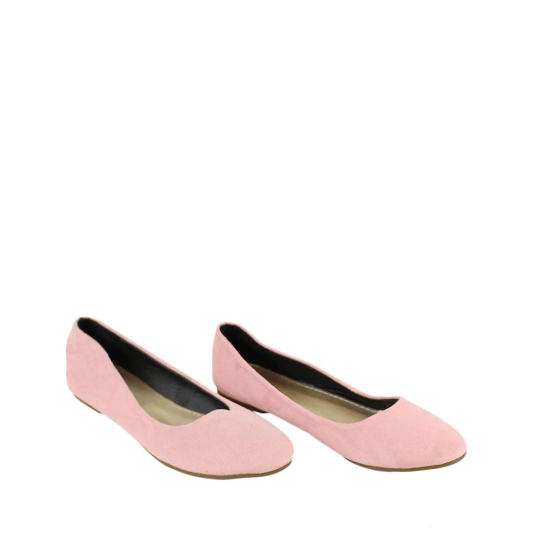 Flat plain ballerinas