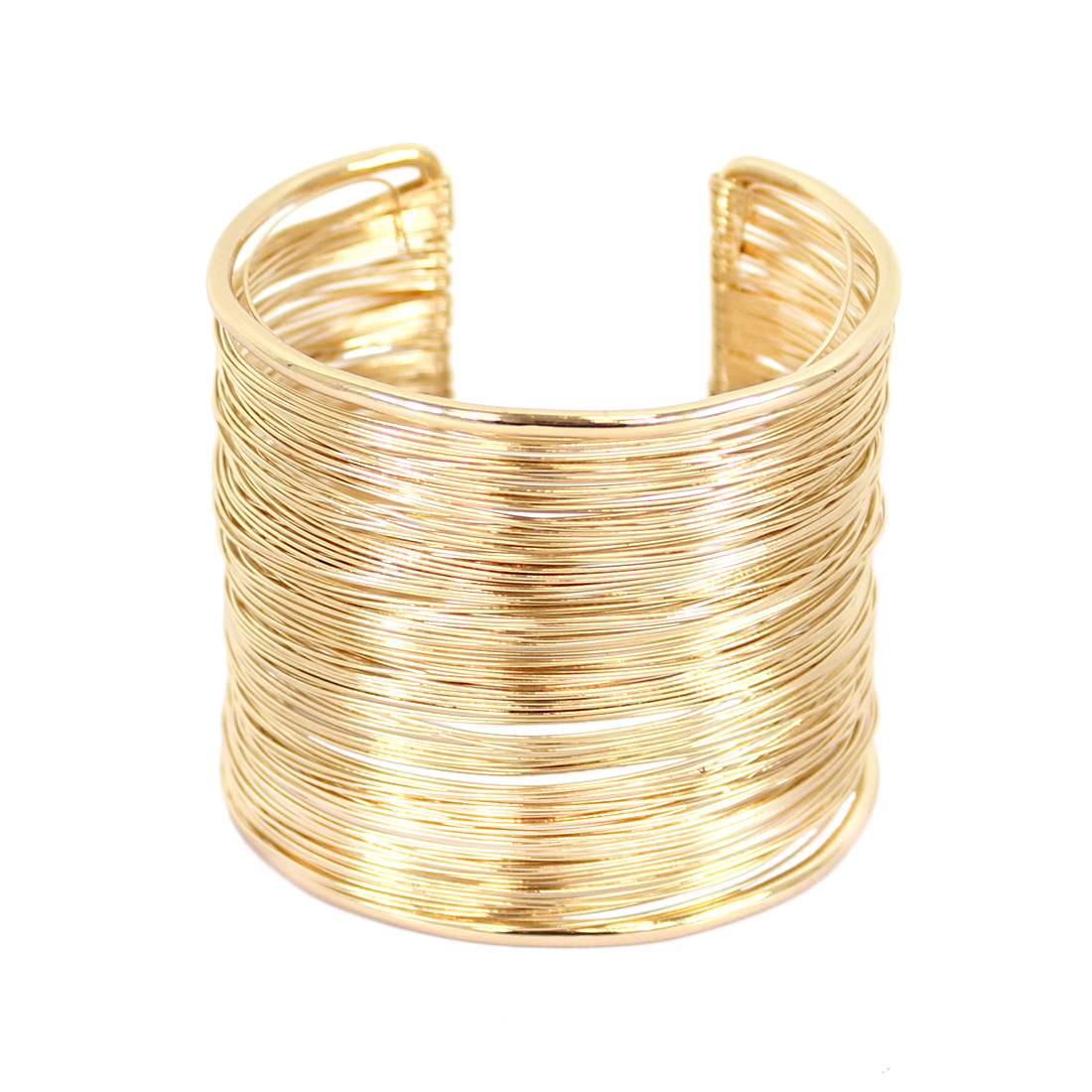 Wire style wide bangle