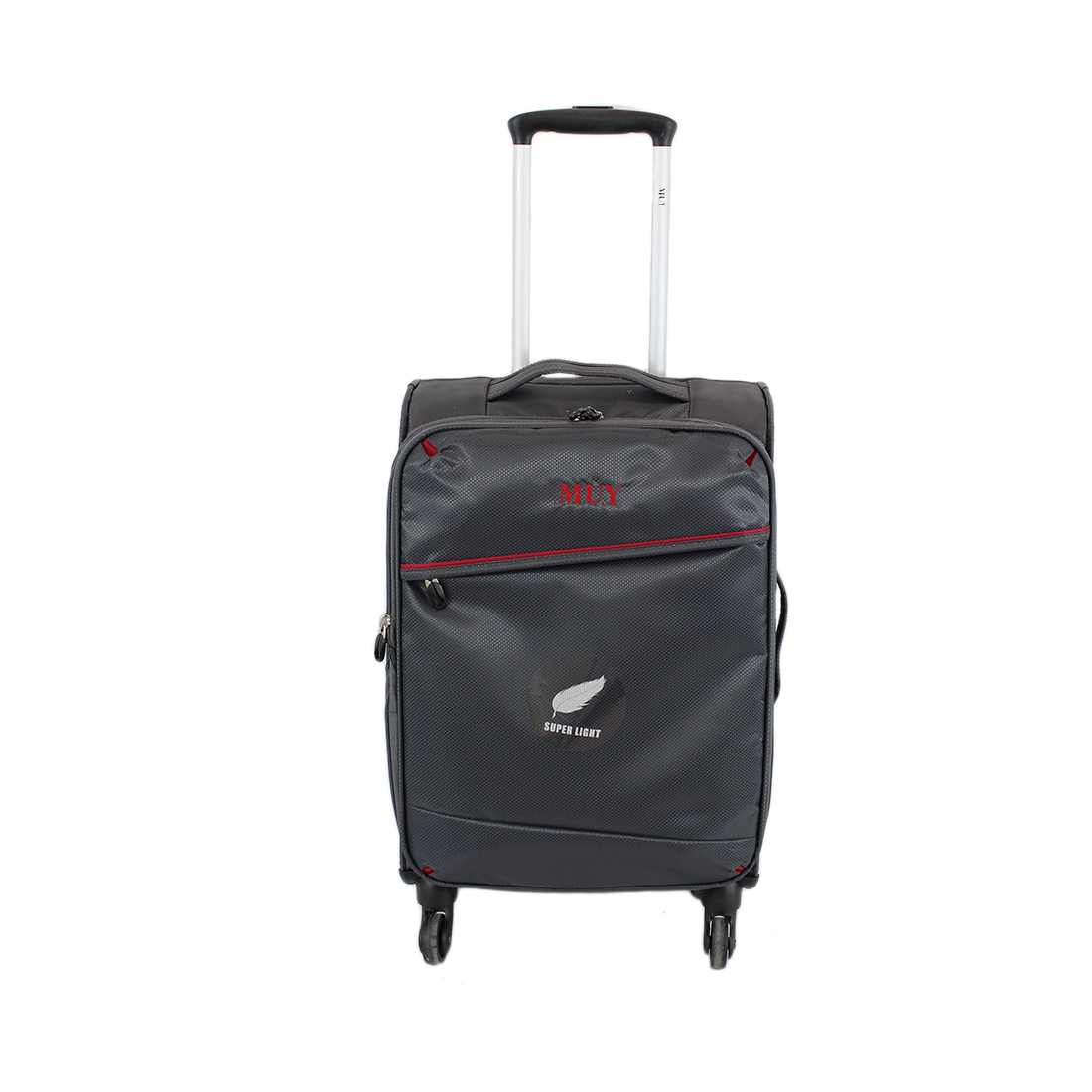 Soft-sided 4 wheels lightweight luggage