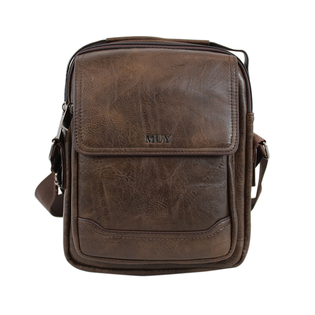 Plain cross body with pocket on front