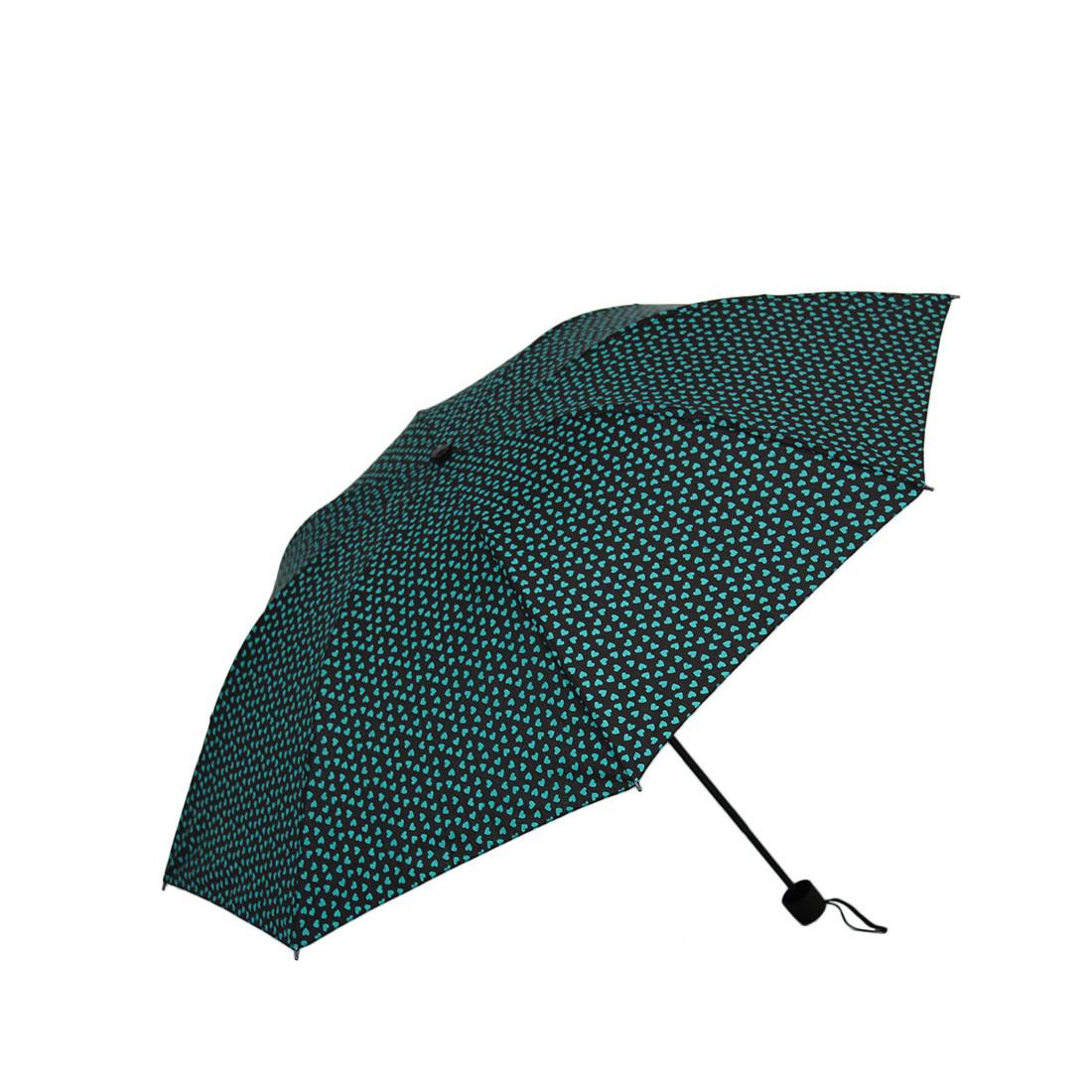 Heart design umbrella