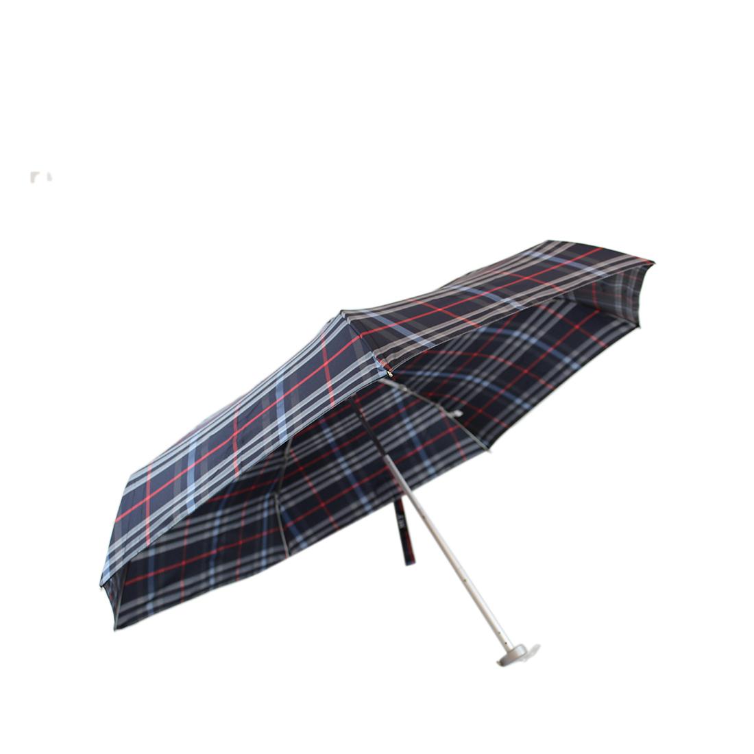 Super small checked umbrella
