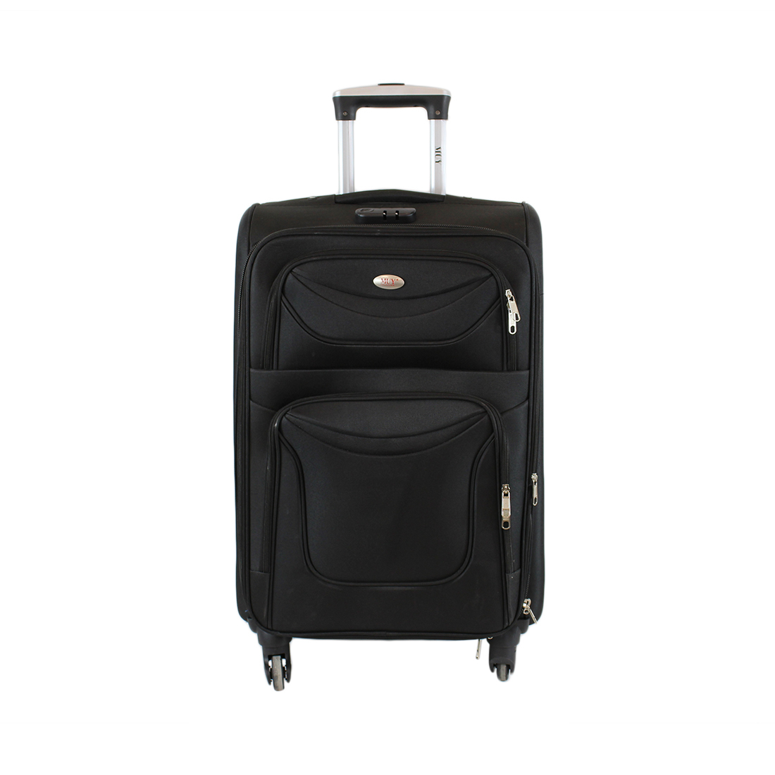Textile Luggage with 4 wheels