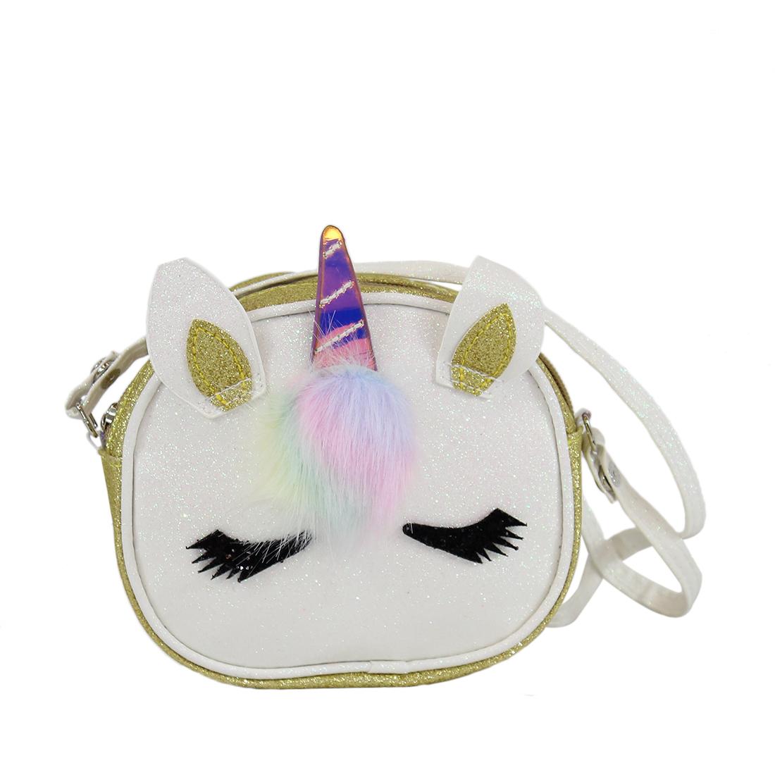 Unicorn with glitters design