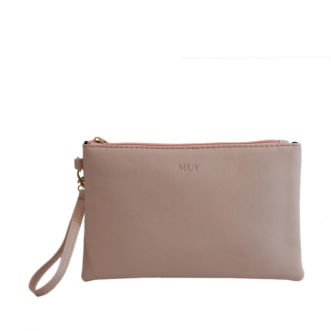 Plain design with attachable strap
