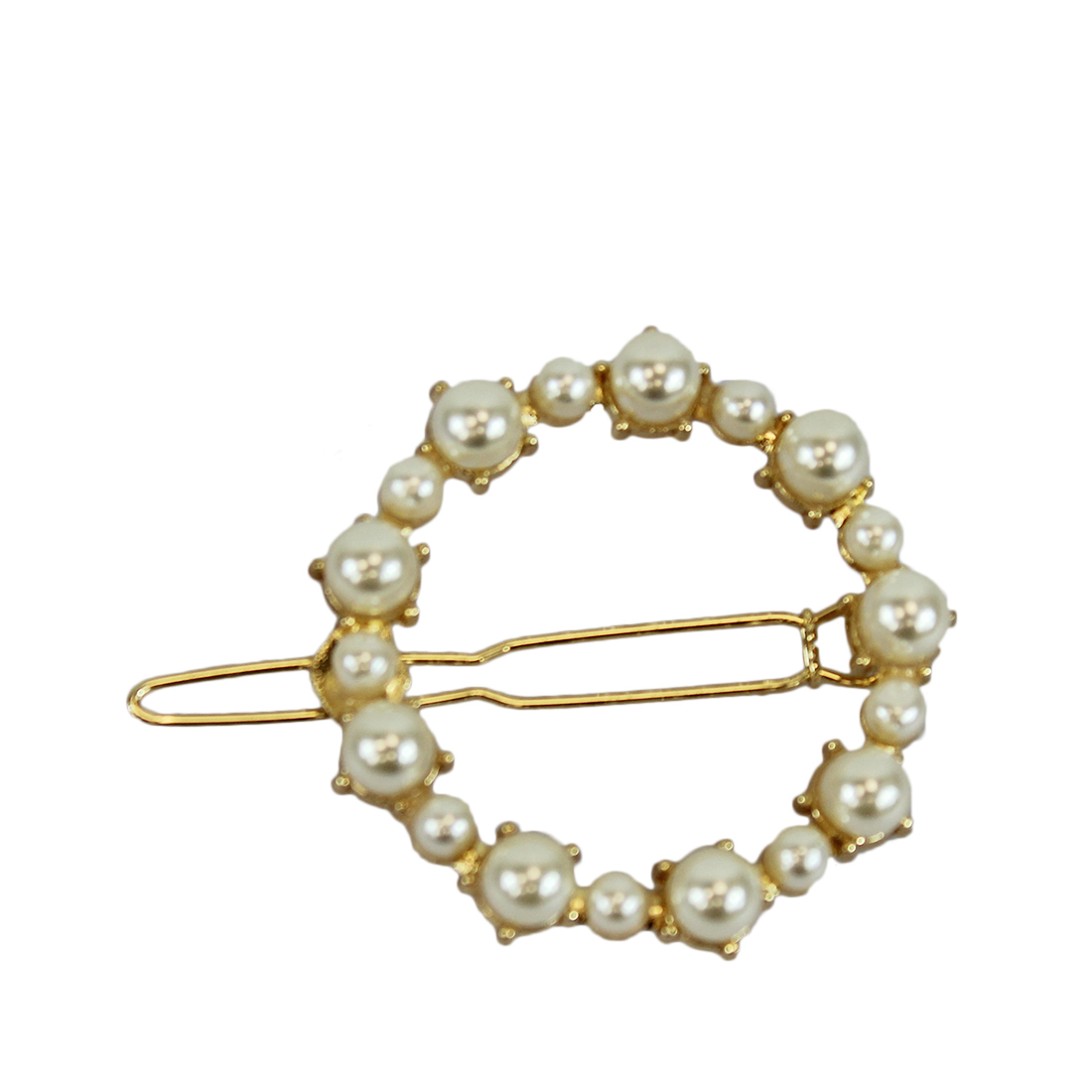 * Circle style with pearls
