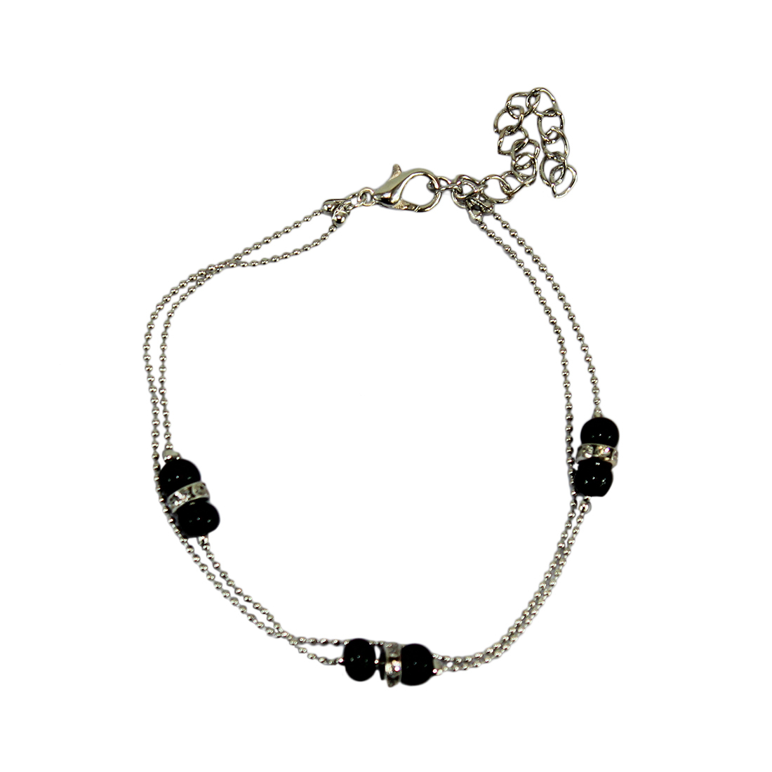 * Black Beads Chain Design
