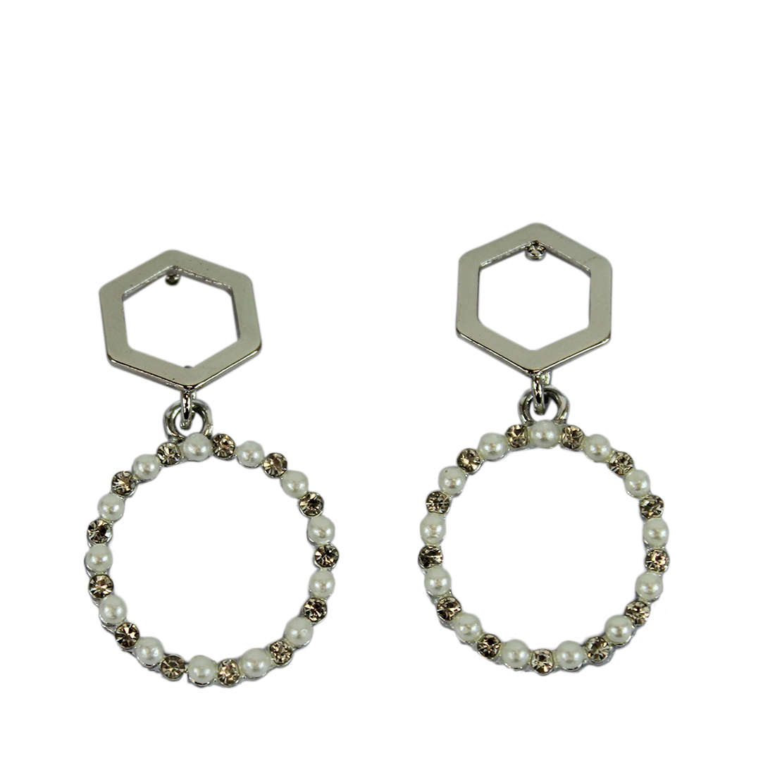 * Circle With Diamond Design