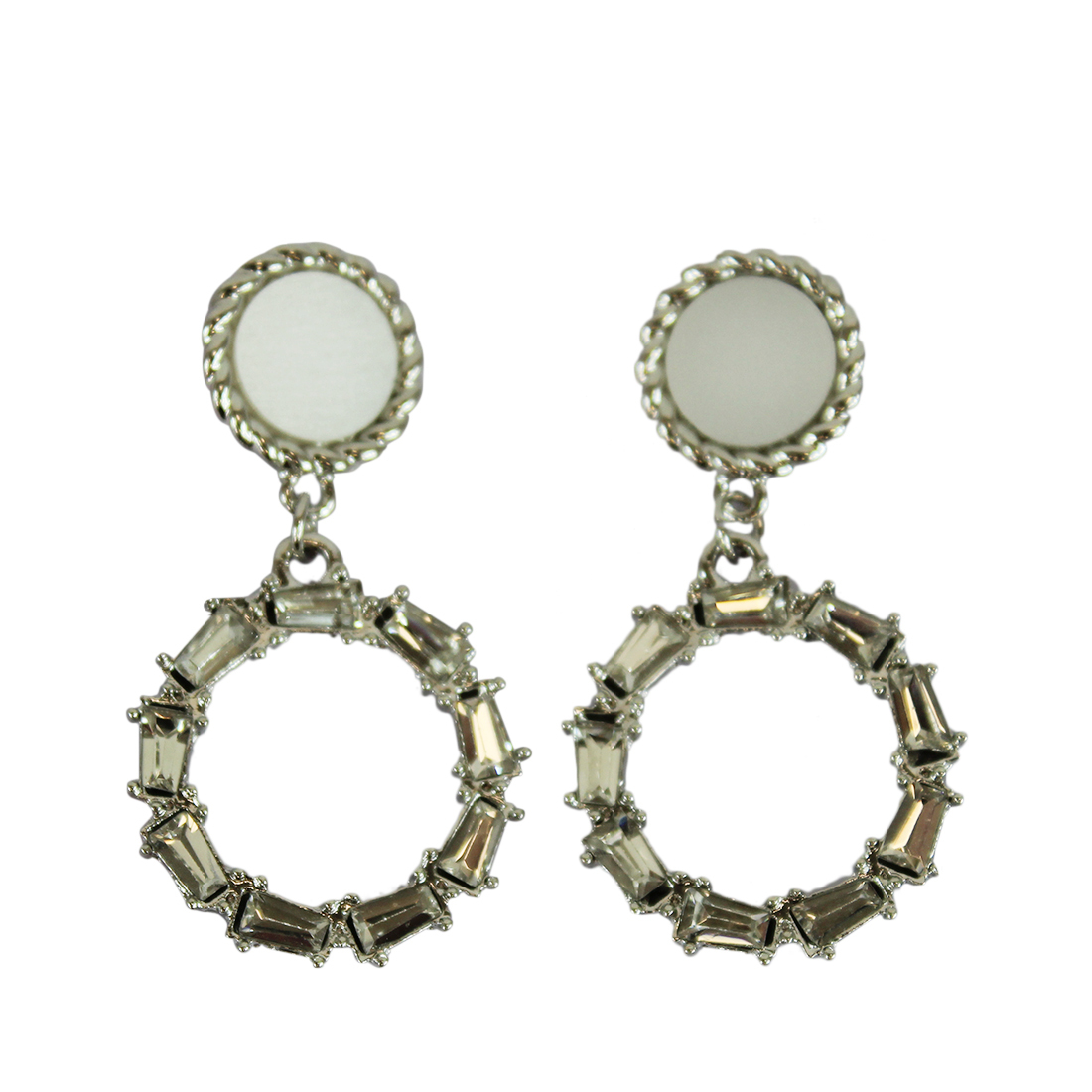 * Circle With Rectangle Diamond Design