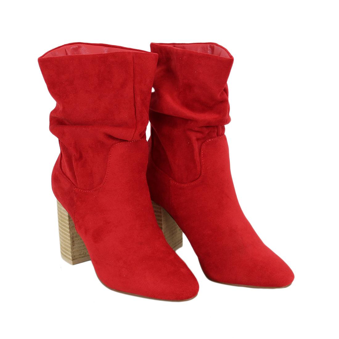 Slouched Block Heel