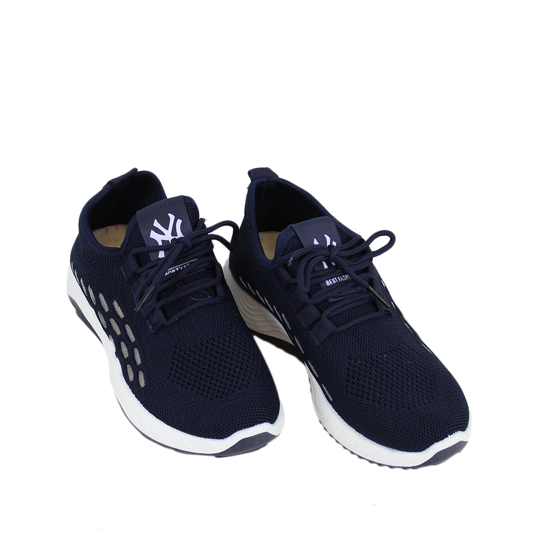 Super light trainers with design on the sides