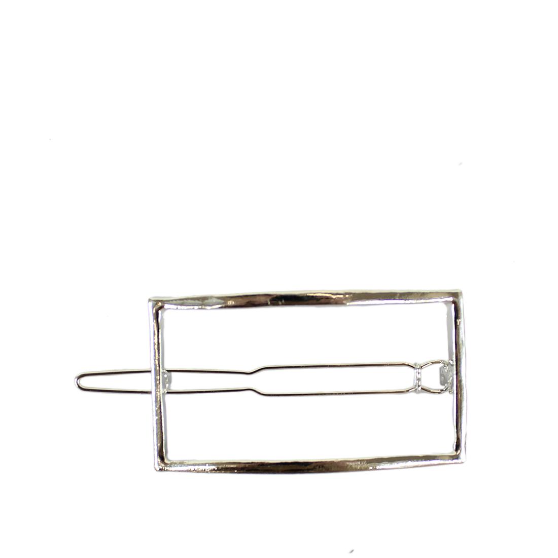 Rectangle hair clip