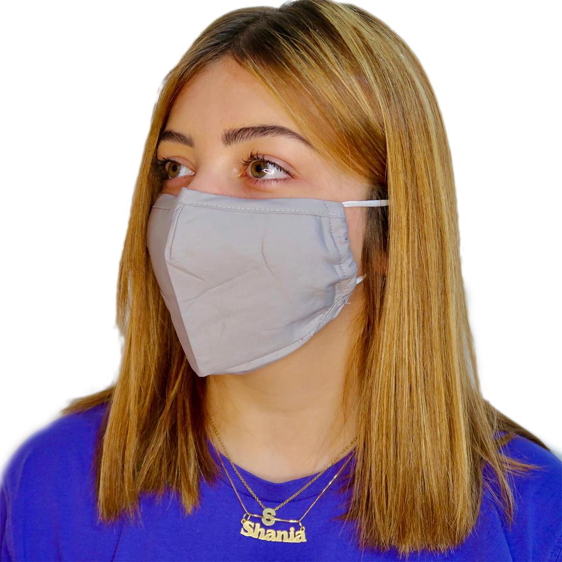 Plain Grey Mask