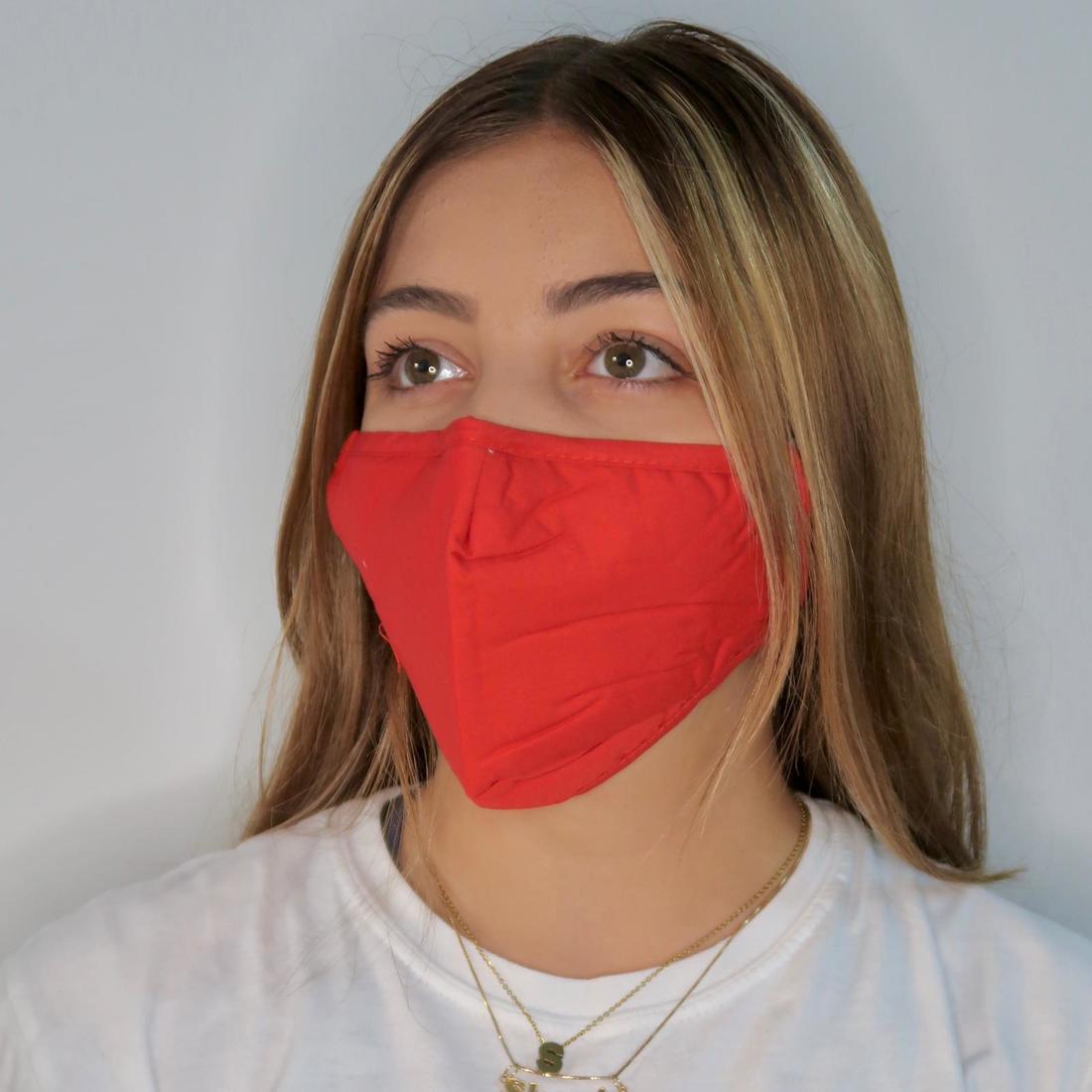 Plain Red Mask