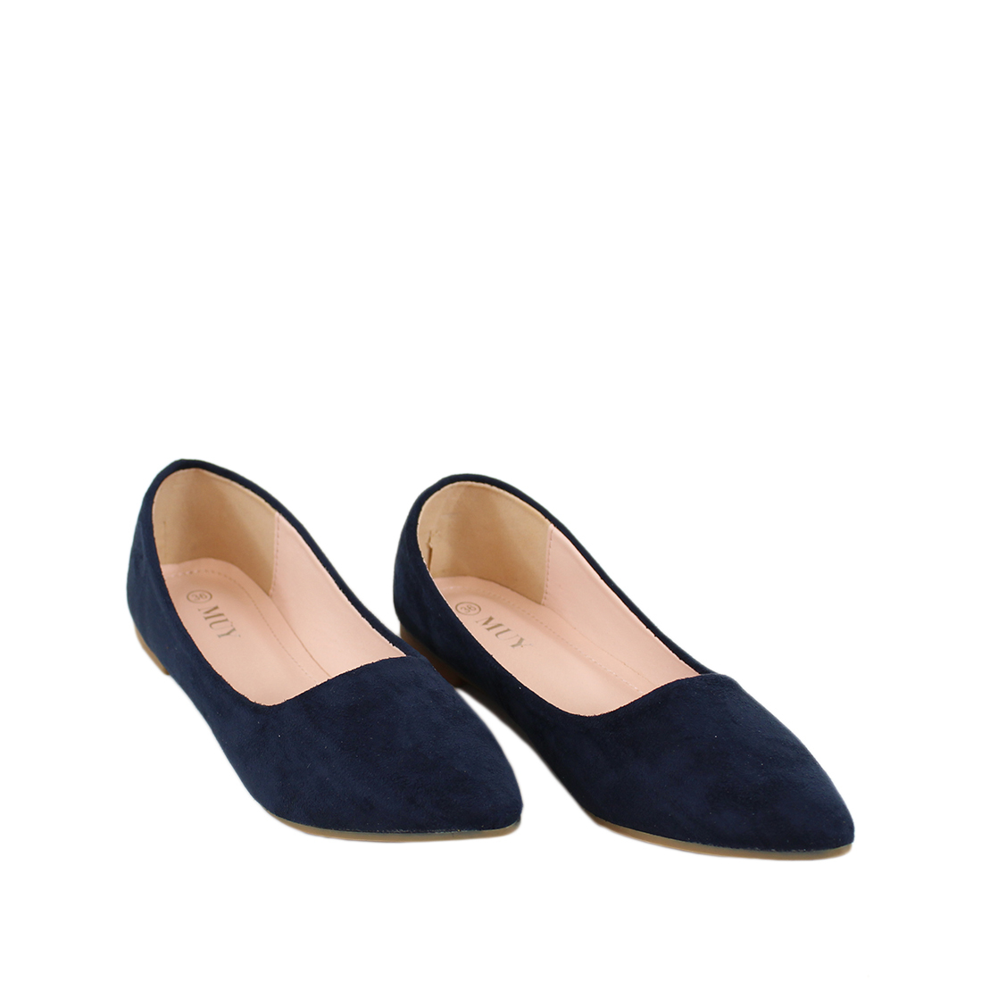 Pointed Suede